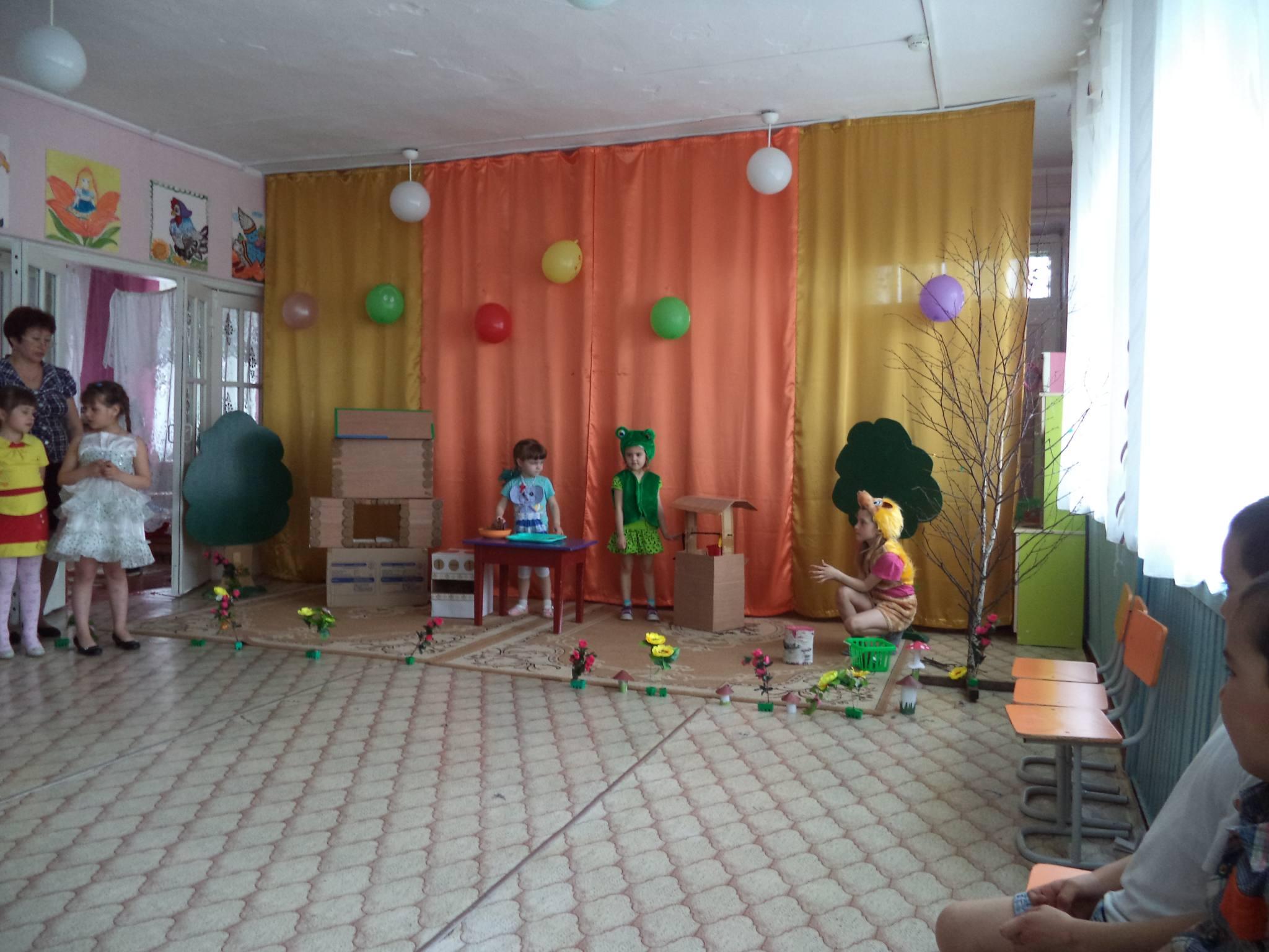 Театр теремок в доу